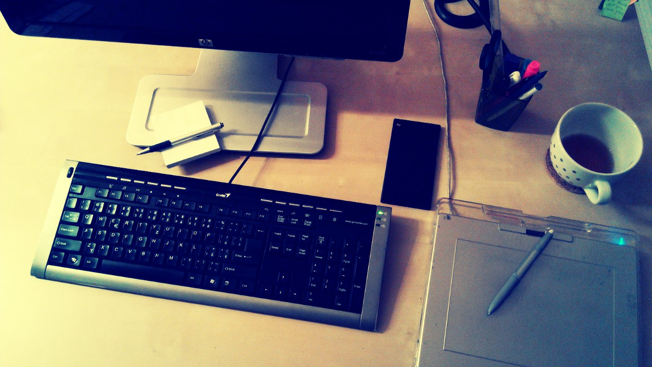 Pracoviště grafika